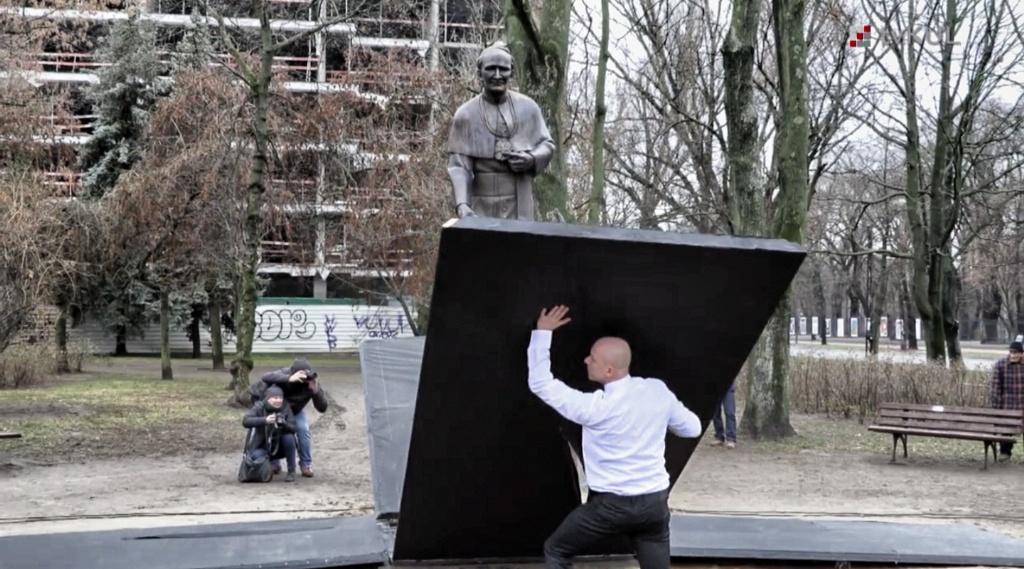 100 rocznica KUL - odsłonięcie pomnika ks. Idziego Radziszewskiego