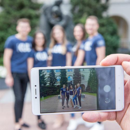 Studenci z Ukrainy o granicy i zdalnej edukacji
