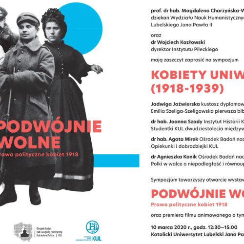 O roli kobiet w odbudowie Polski – uniwersyteckie sympozjum