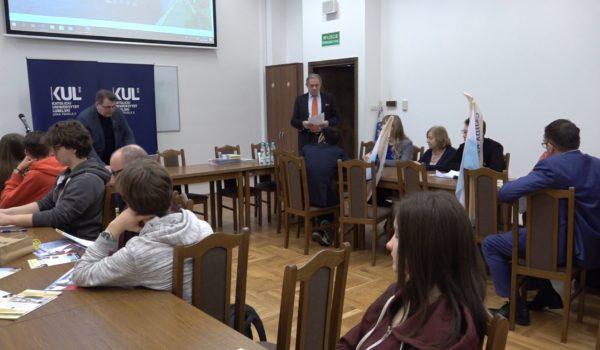 Debaty dyplomatyczne KUL: prof. Zbigniew Krysiak