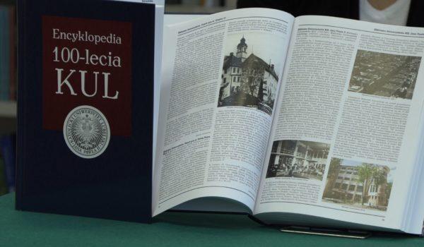 Encyklopedia 100-lecia KUL już w sprzedaży