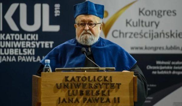 prof. Krzysztof Penderecki na KUL