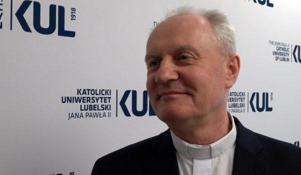 Ks. prof. Mirosław Kalinowski nowym rektorem KUL