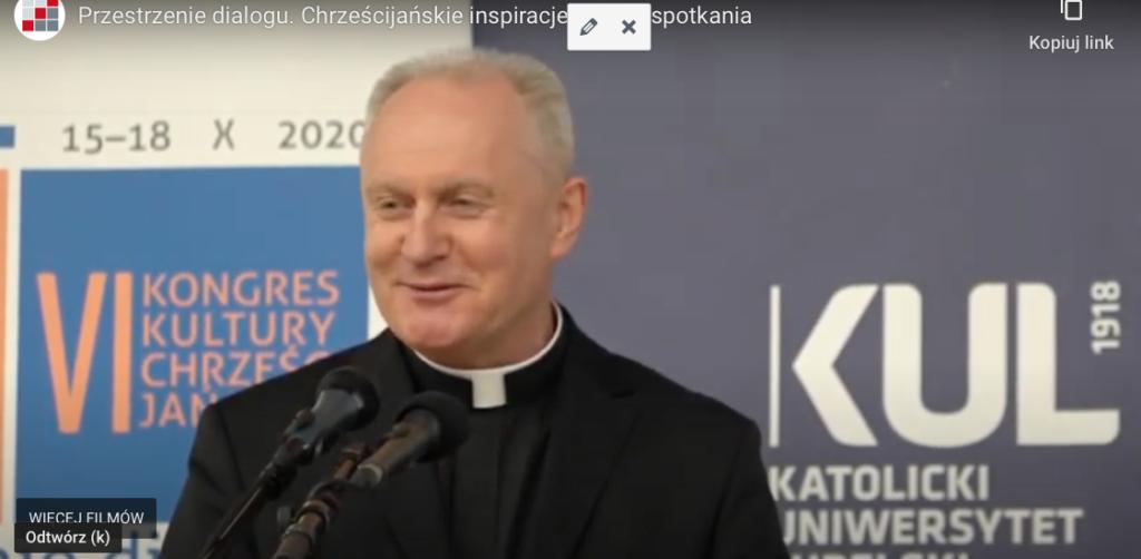 ks.rektor Mirosław Kalinowski