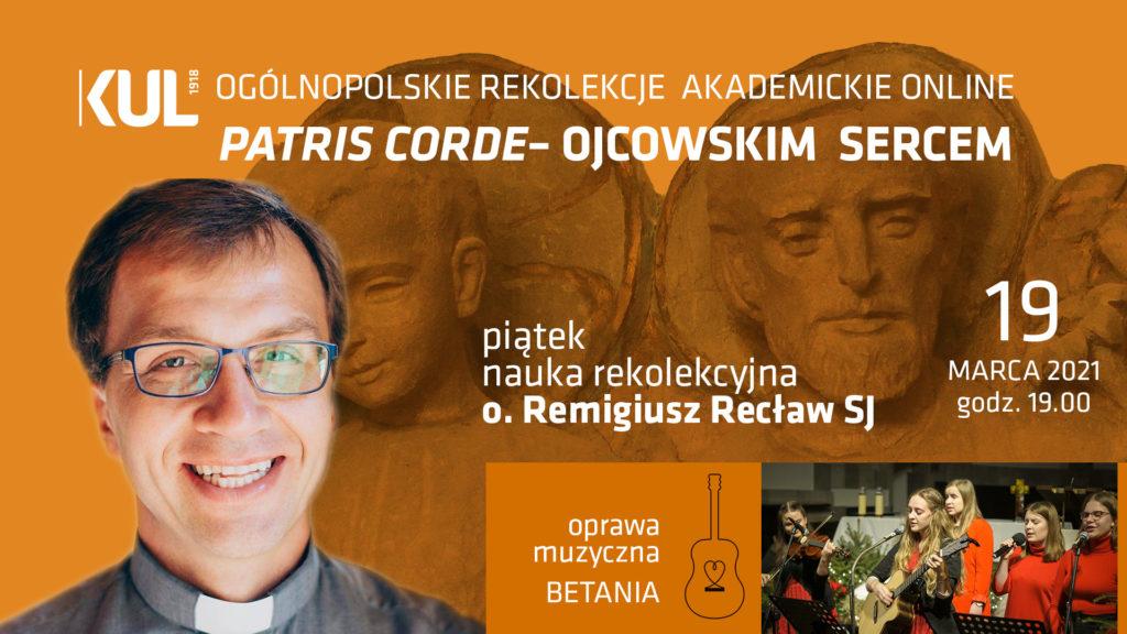 o.Remigiusz Recław SJ
