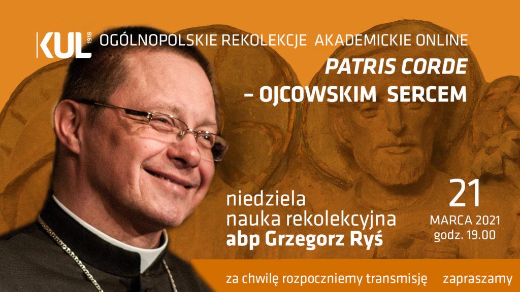 ks.abp Grzegorz Ryś